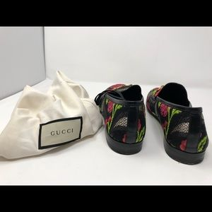 Gucci Shoes - Gucci Brocade Floral Print Loafers
